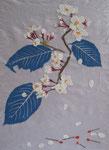 桜、2009年、洋紙・包装紙