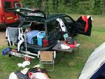 2. Etappe: wir campen