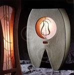 Paolo Iori, luminaires contemporains ; coll. de l'artiste