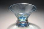 Vase en cristal ; coll. privée