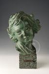 Baby, bronze de Paule Bisman, coll. privée