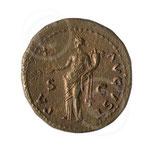 Monnaie romaine (Vespasien) ; Rochefort, coll. abbaye Notre-Dame de Saint-Remy
