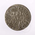 Monnaie en argent ; Rochefort, coll abbaye Notre-Dame de Saint-Remy