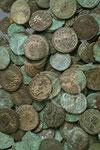Lot de monnaies romaines ; Namur, musée archéologique, collections SAN