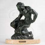 Lassitude, bronze de Paule Bisman, coll. privée