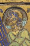 Plaque émaillée avec le sacrifice d'Isaac (détail) ; Namur, TreM.a, coll. Société archéologique de Namur