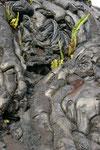 skuriele Formen der Lava