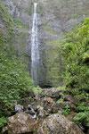 der Wasserfall, endlich erreicht