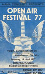 Ticket Stub - Offenbach Open Air Festival 19-6-77
