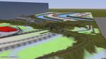 Auch im Duisburger Hafen wird schon gewerkelt