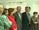 Eröffnung der Ausstellung durch den Alcalde (Bürgermeister) von Las Rozas