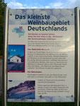 kleinstes Weinbaugebiet Deutschlands