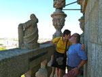 Am Aussichtsturm von Porto