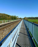 einsame Brücke