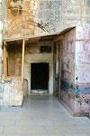 Eingang zur Geburtskirche in Bethlehem