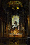 Altar im Kloster Weltenburg
