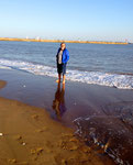 Fußbad im Atlantik