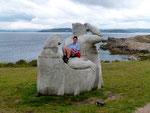 Keltische Statue