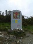 Grenzstein zu Galicia