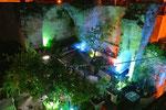 Garten unserer Herberge in Nazareth