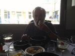 Mittags Muscheln in Fecamp