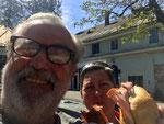 die erste Wurstsemmel in Graz