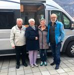 Besuch bei Eugens Cousine Erika und Hermann in Meiringen