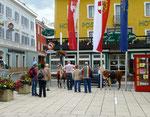 17.6.14, Menschenauflauf in Radstadt