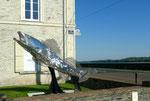 Kunstwerk an der Loire
