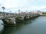 Brücke von Pontevedra.