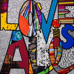 Love is All - 30X30cm - En Vente chez Tokade, Toulouse