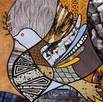 A Piece of Peace 1 - 19X19 cm - En vente chez Carré d'Artistes,Séoul
