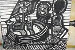 K10 Tausend und ein Tag-Vor den Komoren, 2008, Acryl, 120x145