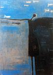 La Pescadora IX, acrilico s/lienzo, 116 x 81 cm, 2012