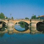 Metz Brücke über die Mosel