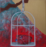 Té Quiero (i want tea) Acrylic on canvas - 16 x 16 cm - 2012