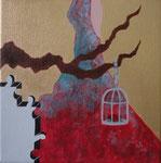 Té Quiero (i want tea) Acrylic on canvas - 16 x 16 cm - 2012