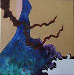 Té Quiero (i want tea) Acrylic on canvas- 16 x 16 cm - 2012