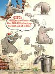 Das Buch der Ottifanten: Über 300 comic-strips