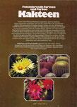 Kakteen: Informationen zu Herkunft, Pflege, Zucht, reich bebildert