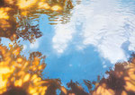 Sonne im Wasser | 2015 | 110 x 155 cm | Acryl auf Baumwolle