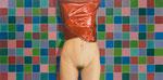 Rot verpackt | 2008 | 100 x 200 cm | Acryl auf Baumwolle