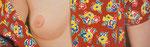 Hawaihemd | 2008 | 40 x 160 cm | Acryl auf Baumwolle