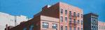 Eastvillage | 2014 | 50 x 170 cm | Acryl auf Baumwolle