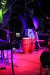 Bühne vor dem Konzert