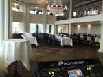 Festsaal für Hochzeitsfeier