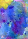 """""""drawing1508"""" watercolor,paper  23×31cm 2015"""
