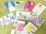 ポストカード制作 2015