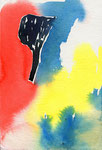 """untitled""  watercolor,paper 10×14.8cm"