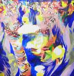 """""""63""""  acrylic on canvas 162×162cm,2015"""